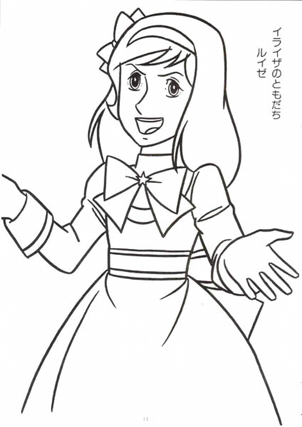 anime candy coloring pages - photo#10