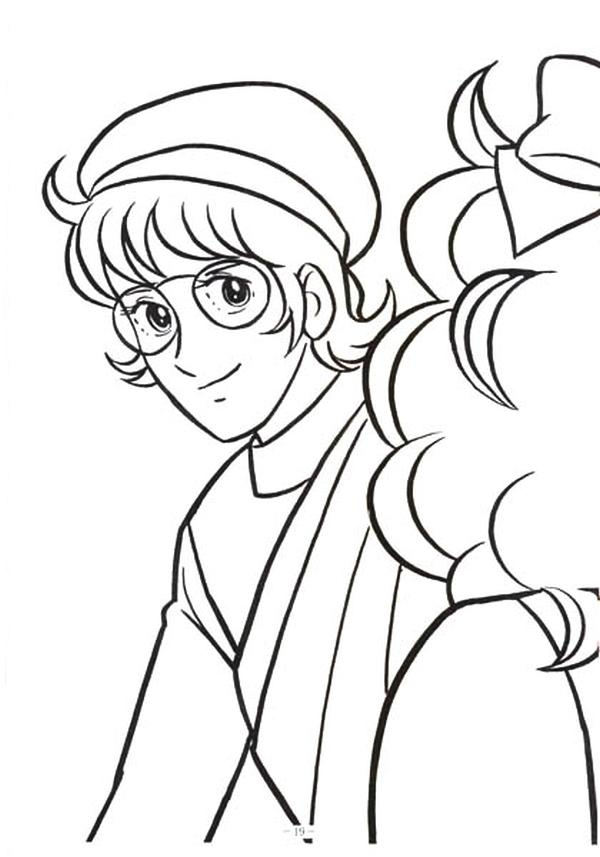 Free Coloring Pages Of Candy Anime