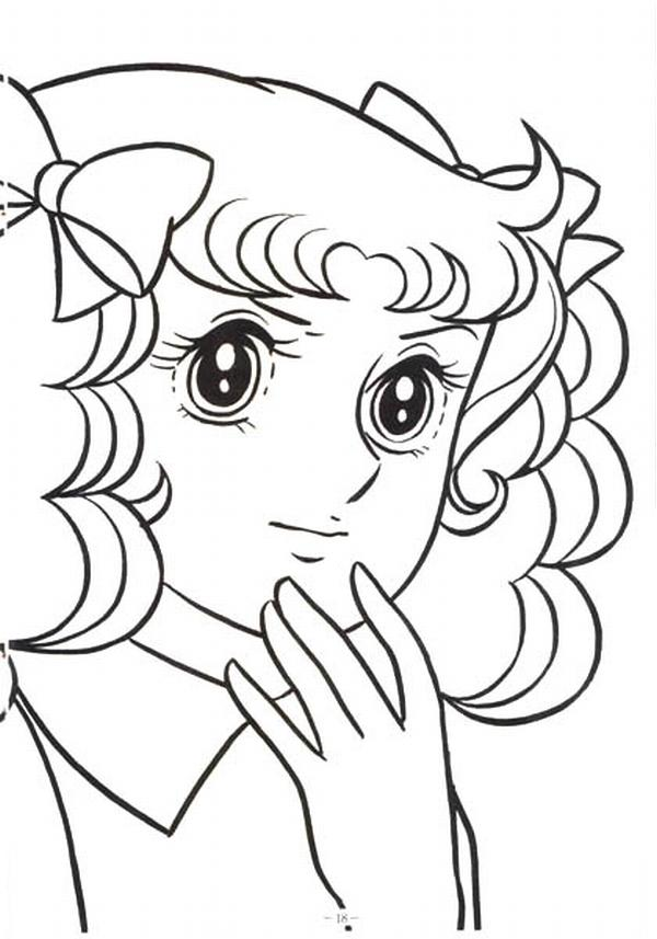 anime candy coloring pages - photo#20