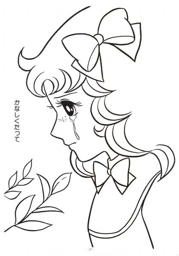 anime candy coloring pages - photo#11