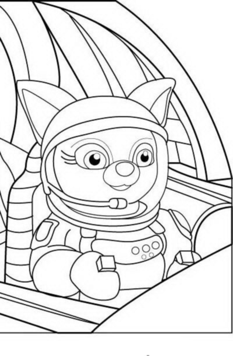 Secret agent oso coloring pages