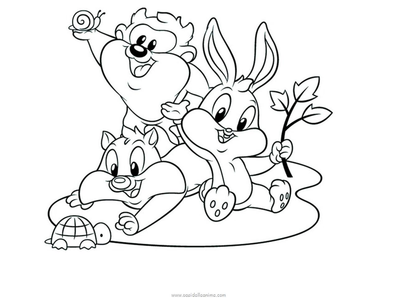 Coloring book Baby Looney Toons