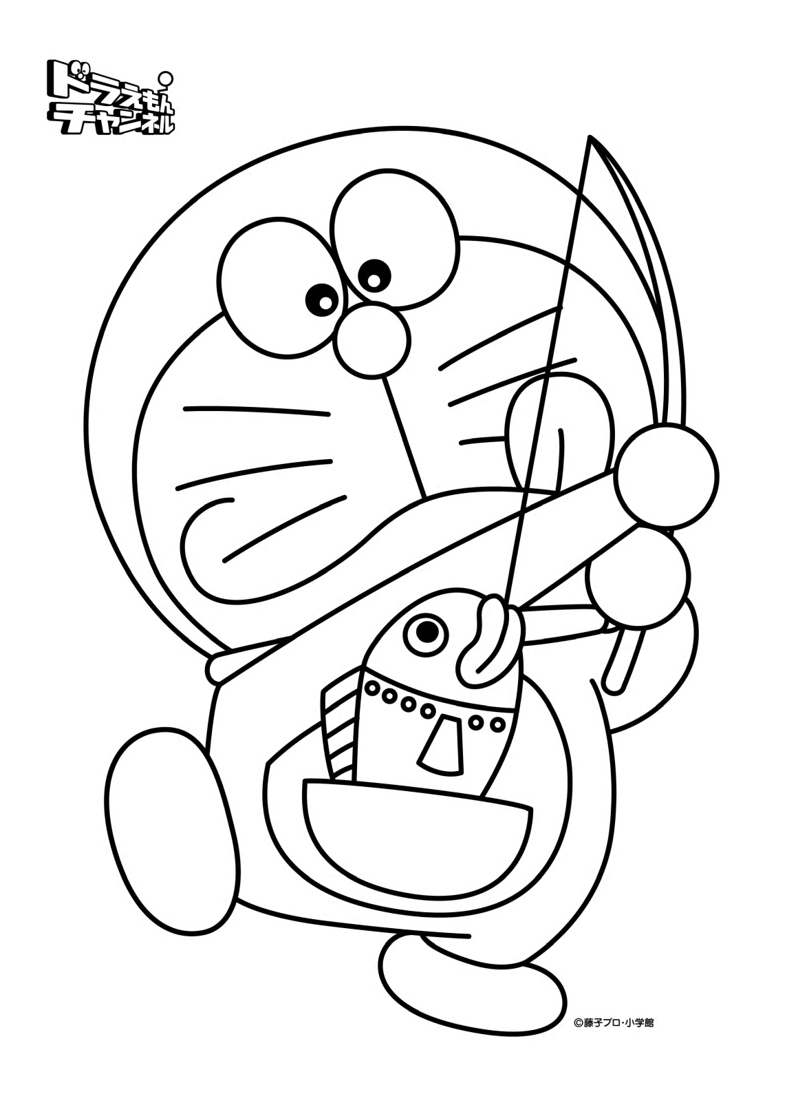 coloring book doraemon - Coloring Or Colouring