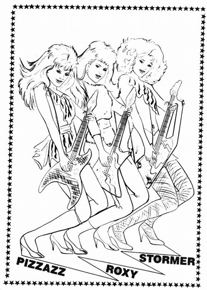 jem coloring pages | Coloring book - Jem e le Holograms
