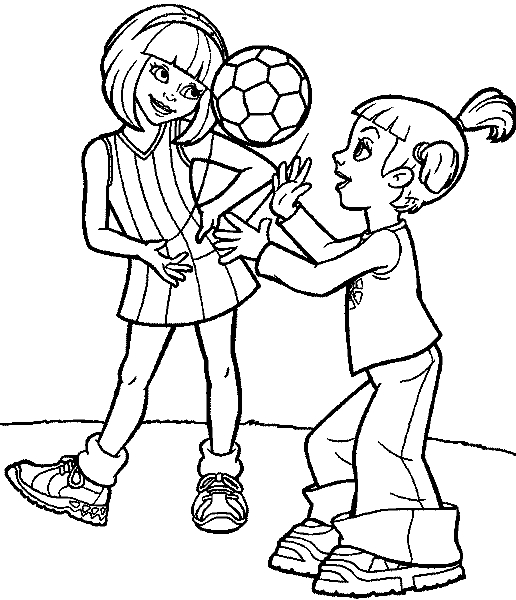 Lazy town coloring pages imagui for Lazy town coloring pages