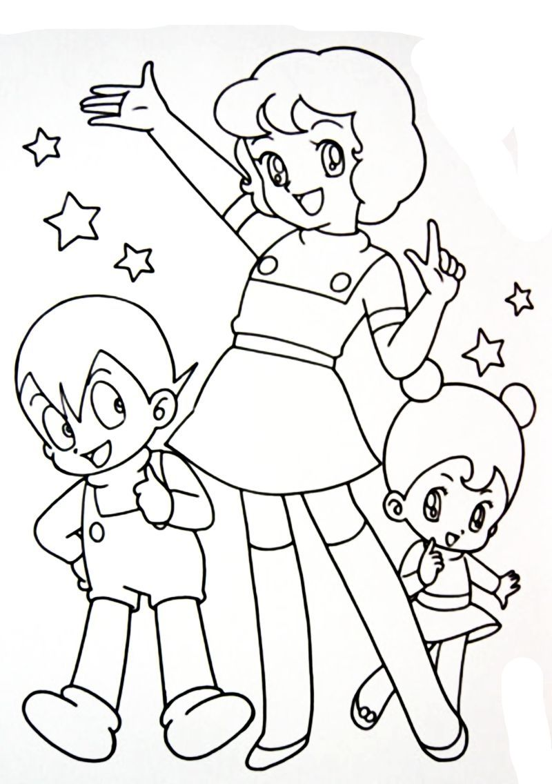 Coloring Book Maghette