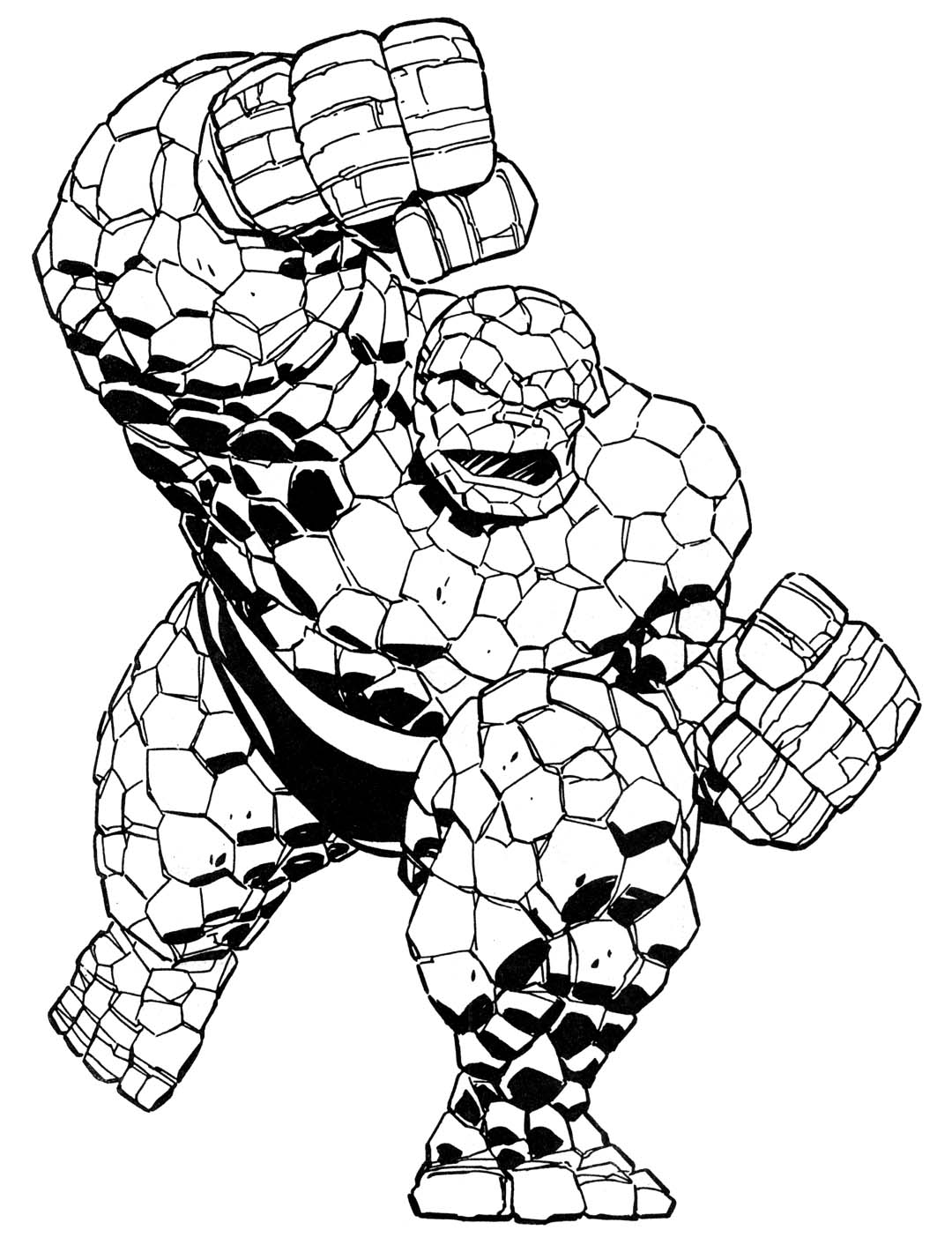 Coloring book Marvel Super heroes