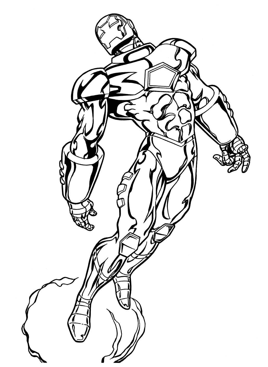 marvel heros coloring pages - photo#27