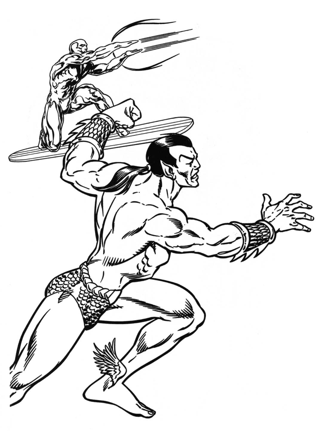 marvel superheroes coloring pages - photo#8