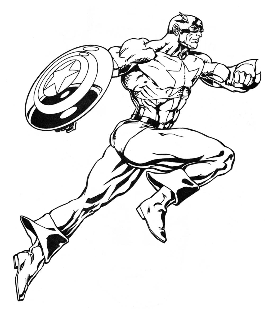 super heroes coloring pages - photo#18