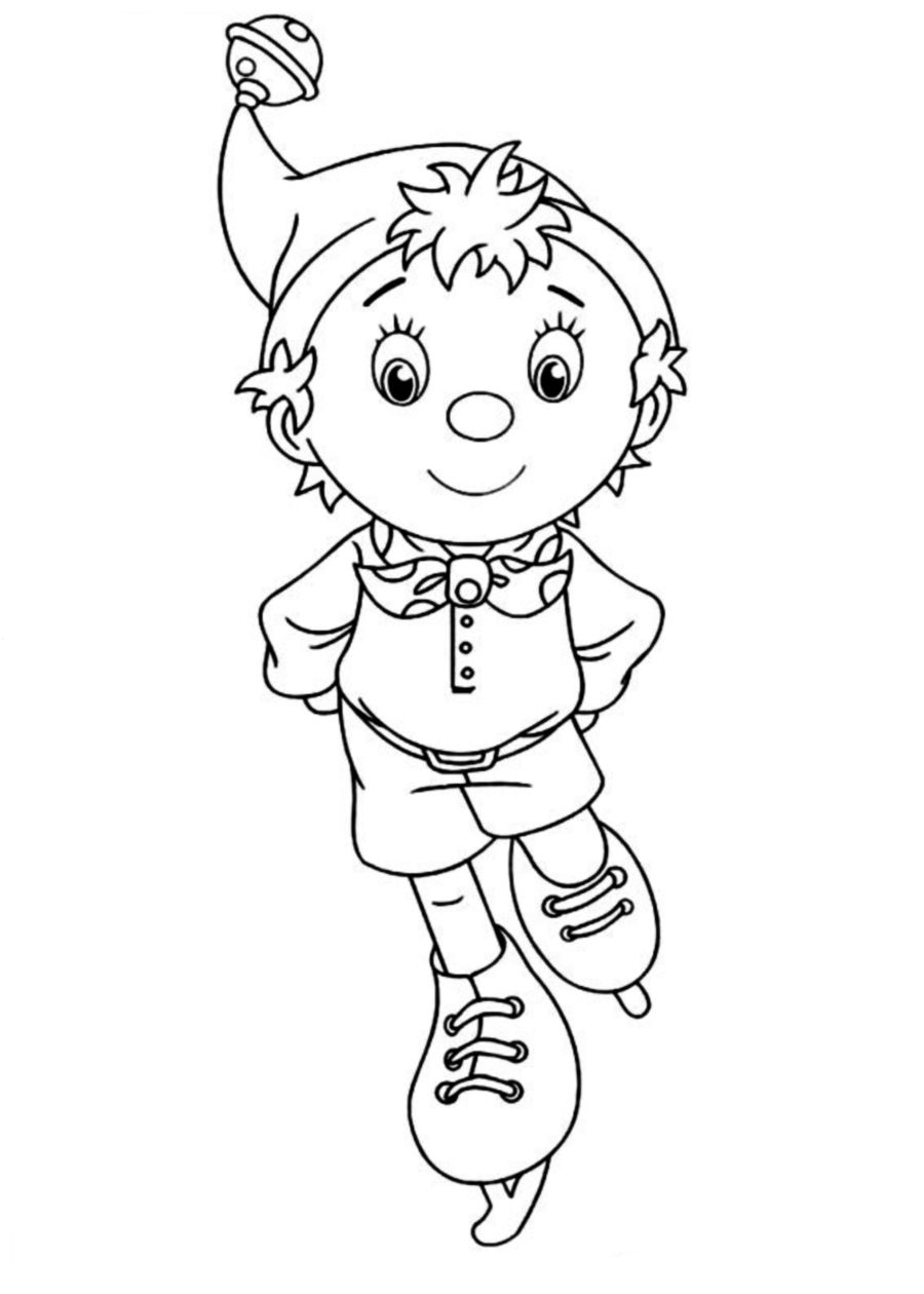 noddy coloring pages - photo#22