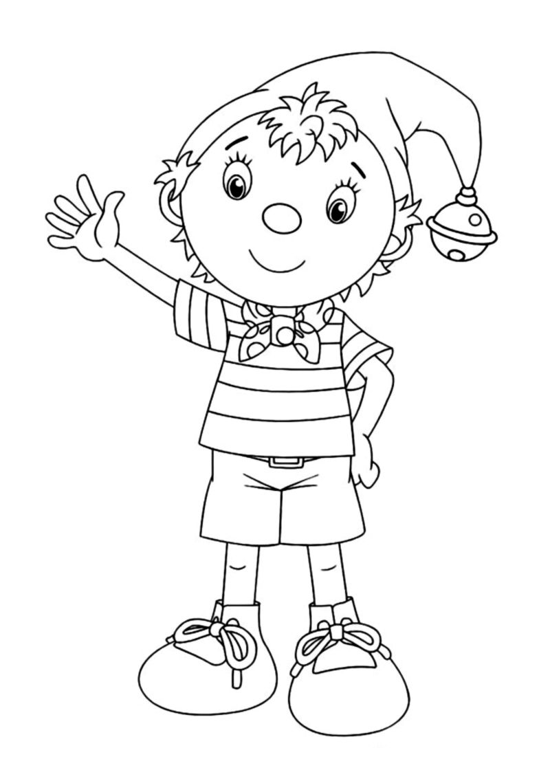 noddy coloring pages - photo#5