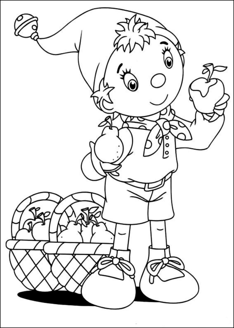 noddy coloring pages - photo#24