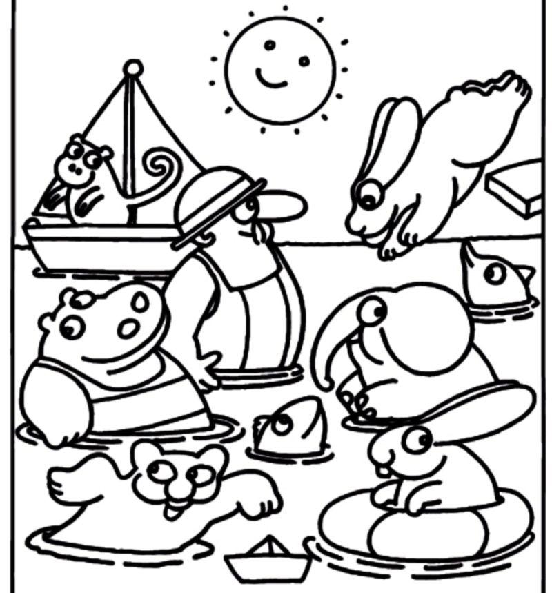 Eccezionale disegni da colorare bambini pimpa for Pimpa da colorare