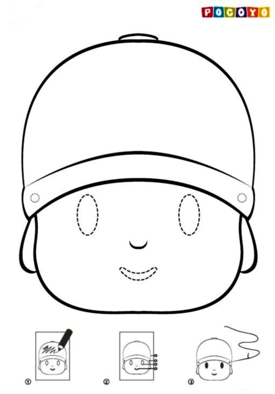 Pocoyo Coloring Pages Pdf : Index discover woodworking projects