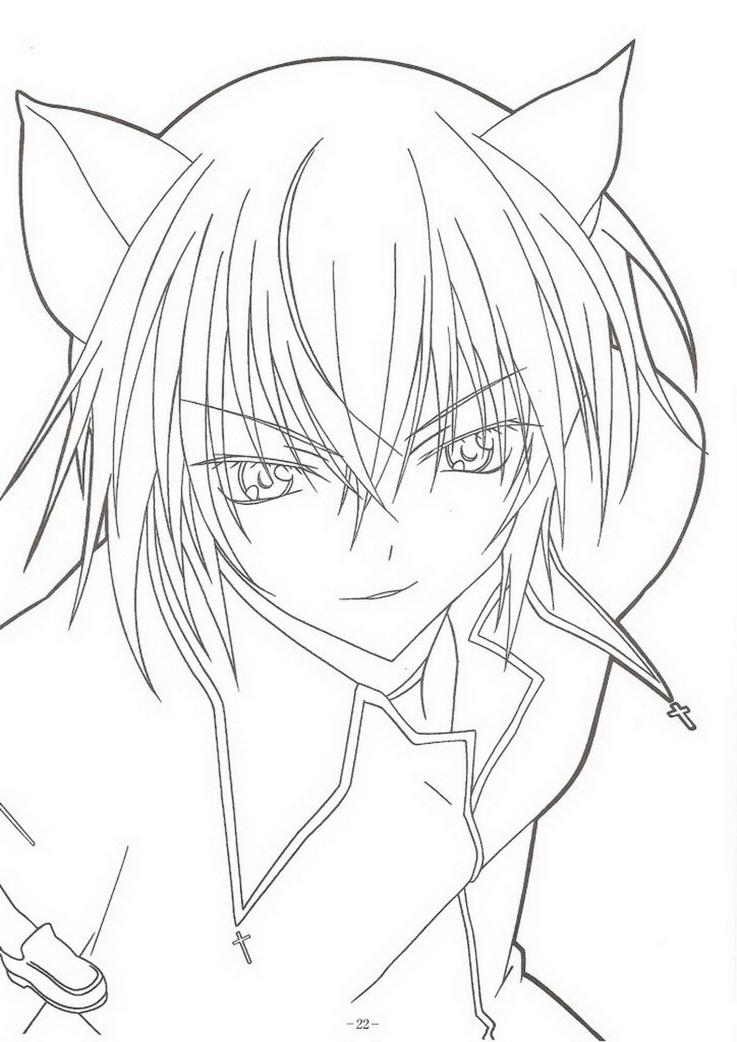 manga coloring pages - immagini da colorare shugo chara