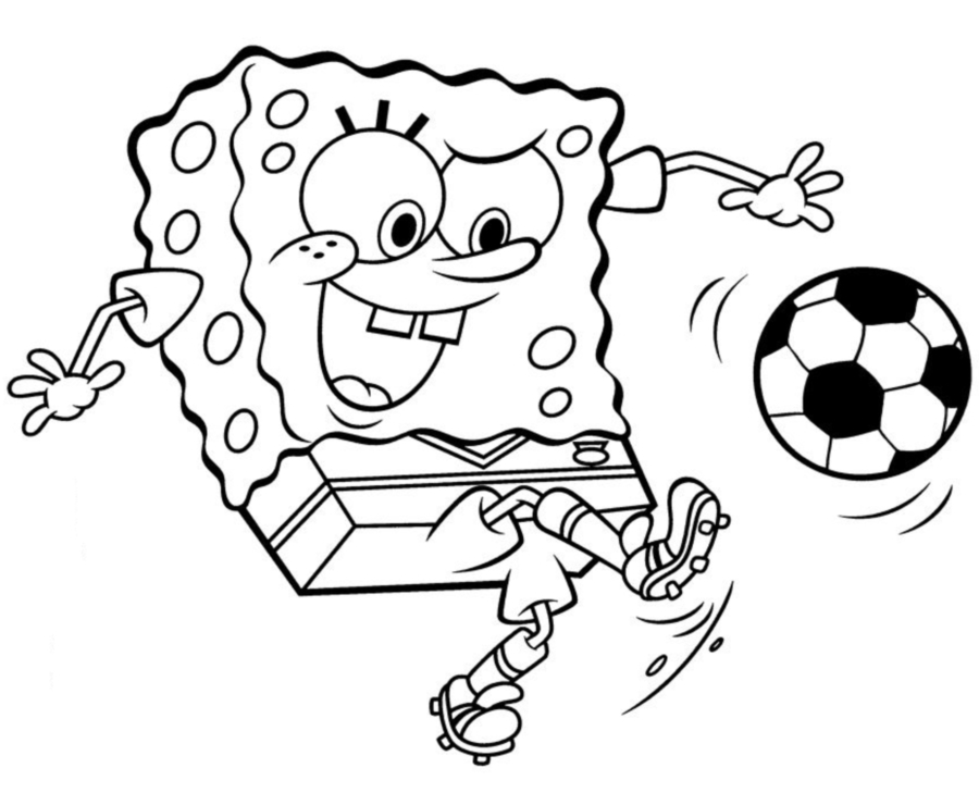 Cute spongebob coloring pages