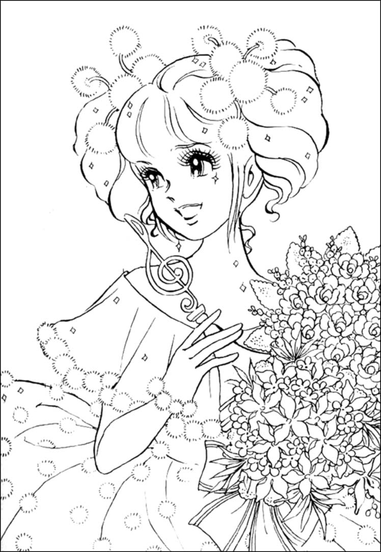 fine line coloring pages - photo#24