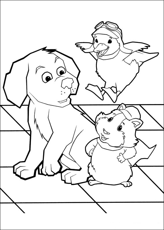 coloring pages of the wonderpets - photo#8