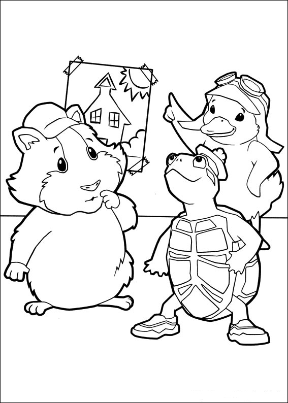Coloring Book Wonder Pets Pets Coloring Page