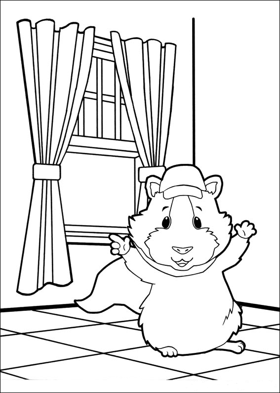 coloring pages of the wonderpets - photo#25