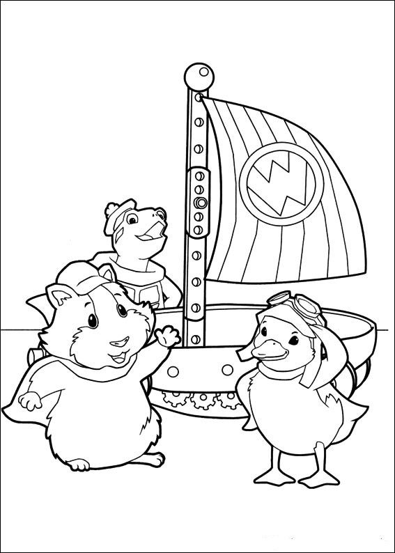 Coloring book wonder pets for Color wonder coloring pages