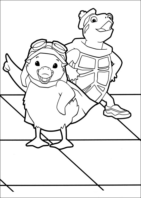 coloring pages of the wonderpets - photo#19