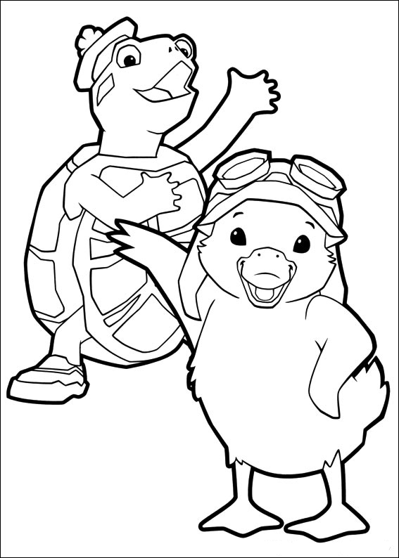 wonder pets free coloring pages - photo#23