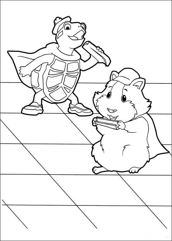 coloring pages of the wonderpets - photo#14