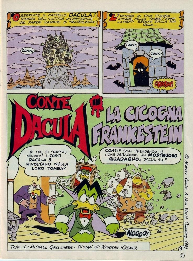 Conte dacula fumetti