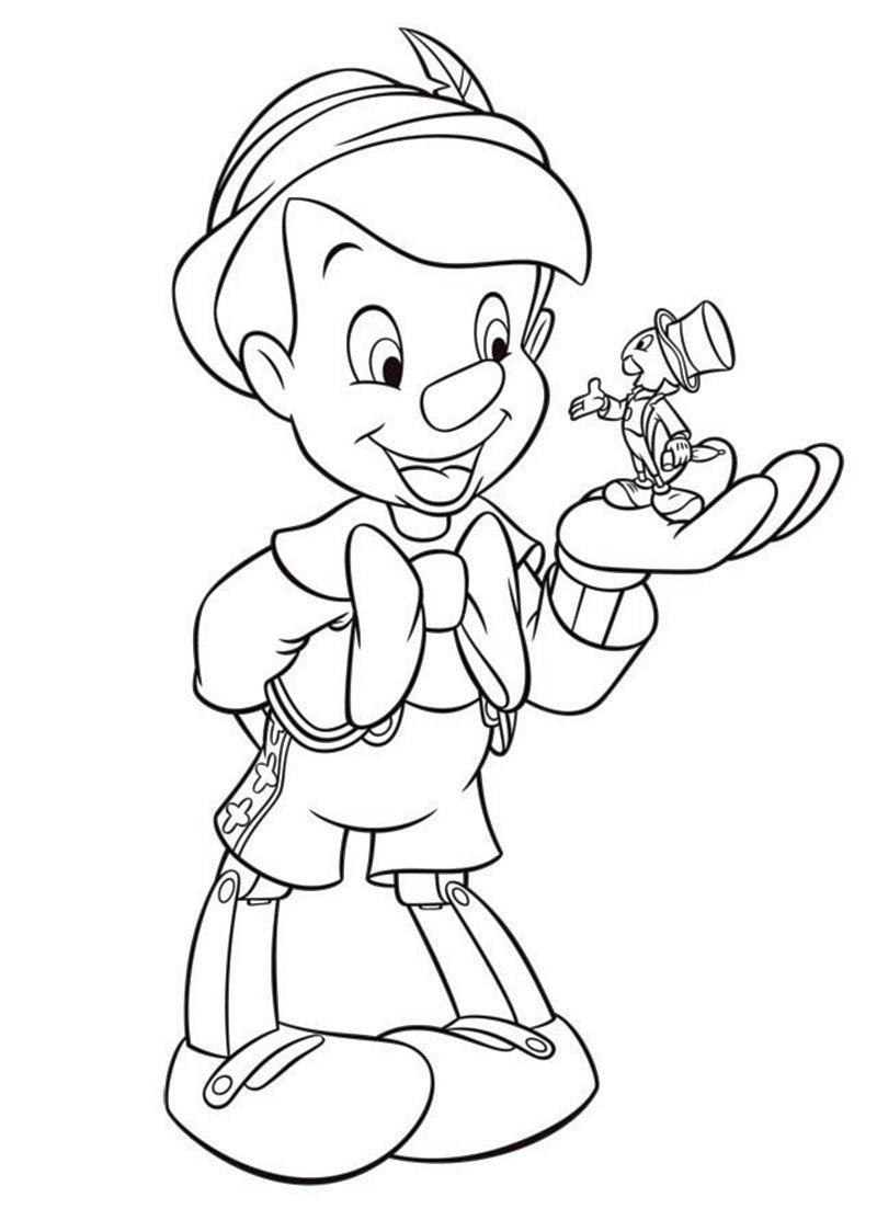 Pinocchio Colorare