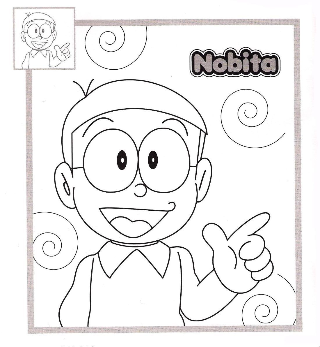 Foto doraemon new calendar template site for Disegni da colorare doraemon