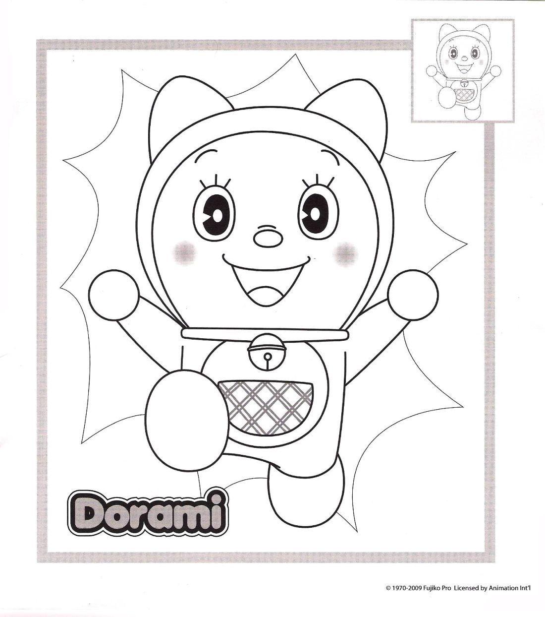 Doraemon immagini da colorare for Disegni da colorare doraemon