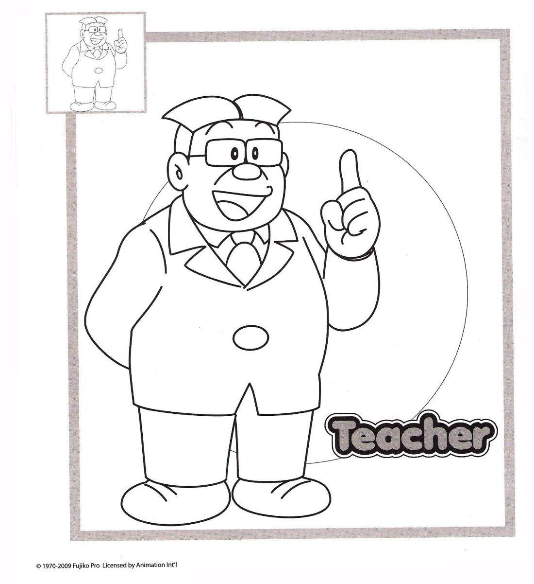 Doraemon immagini da colorare for Doraemon immagini da colorare