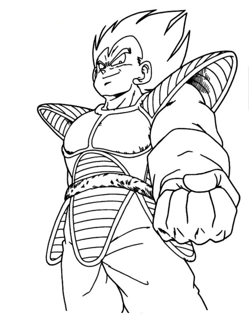 Dragonball immagini da colorare for Dbz coloring pages online