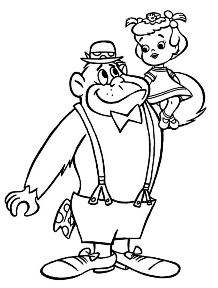 hanna barbera coloring pages - photo#20