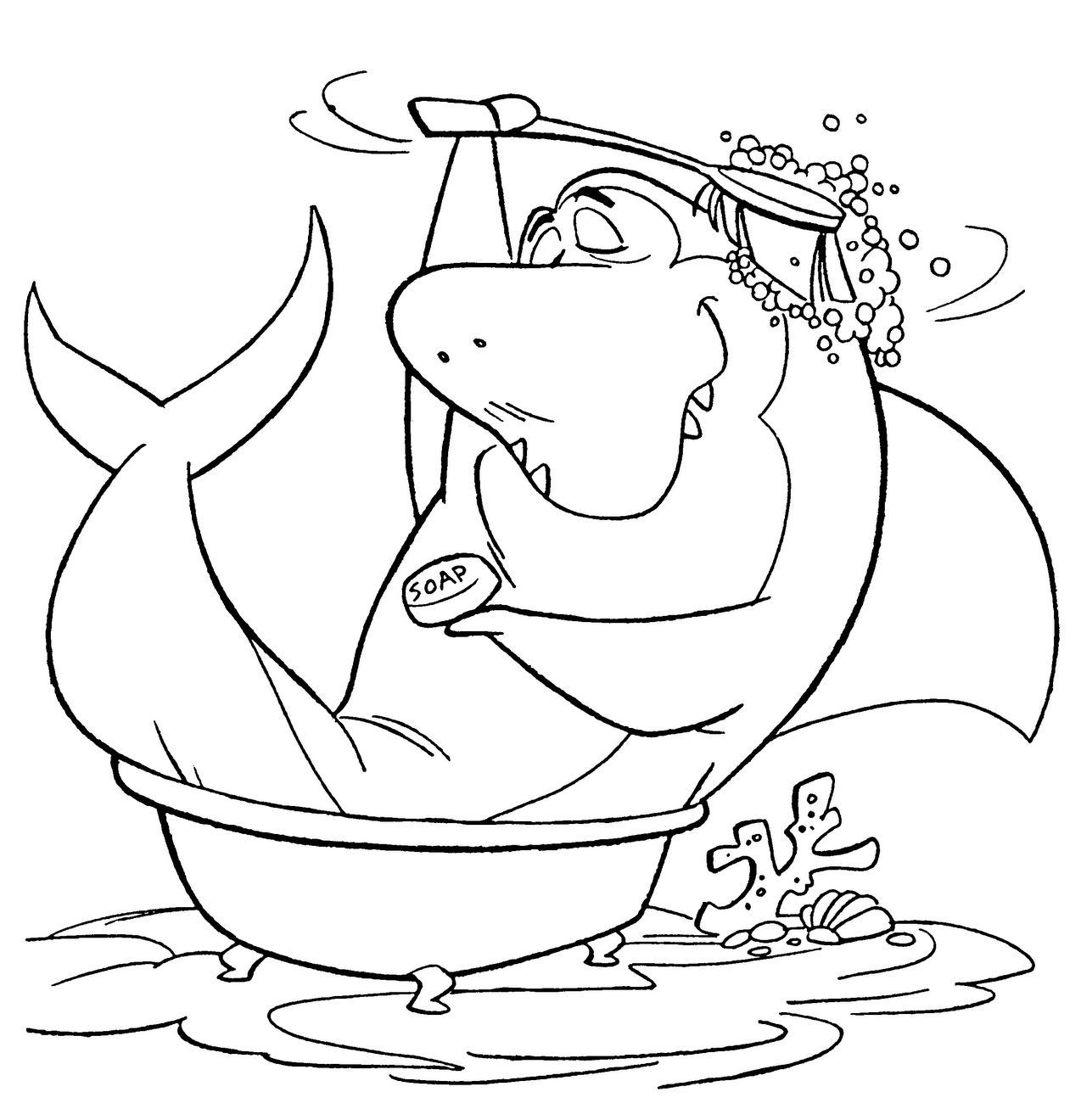hanna barbera coloring pages - photo#28