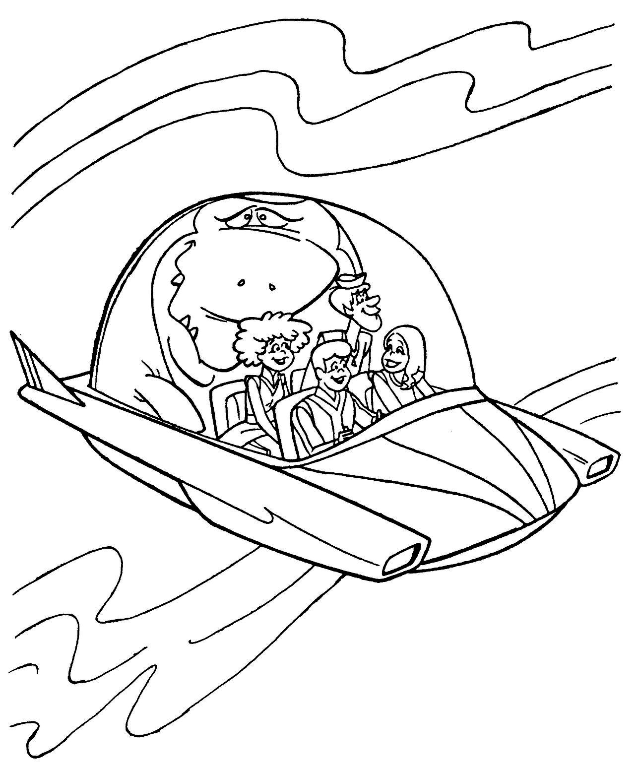 hanna barbera coloring pages - photo#44