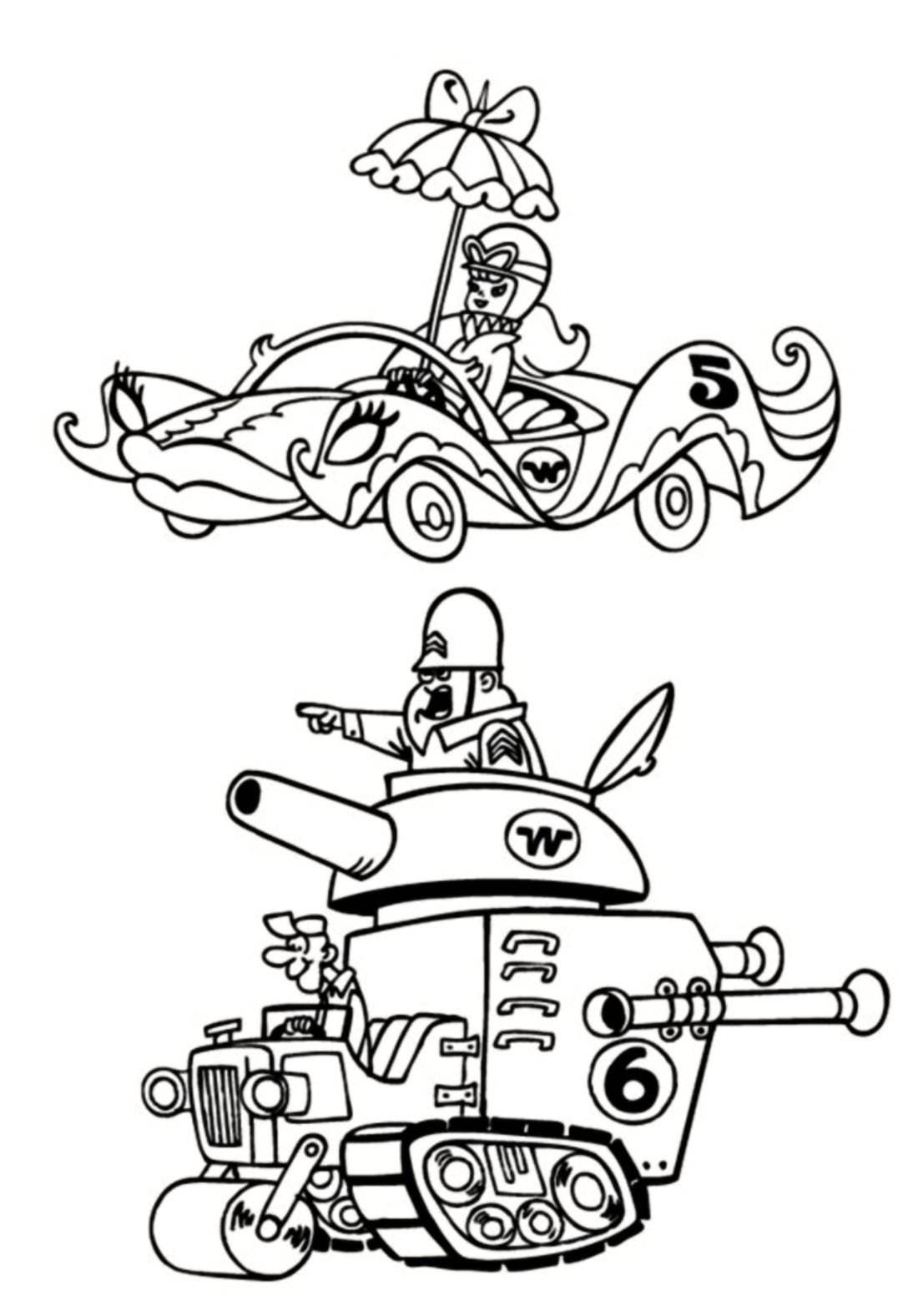 hanna barbera coloring pages - photo#39