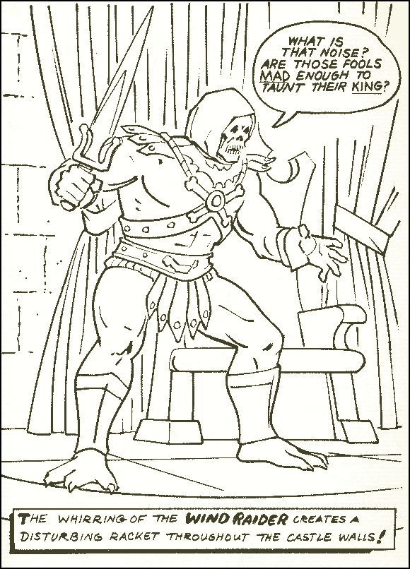 masters of the universe he man skeletor motu vintage coloring pages dawson pinterest coloring vintage and universe