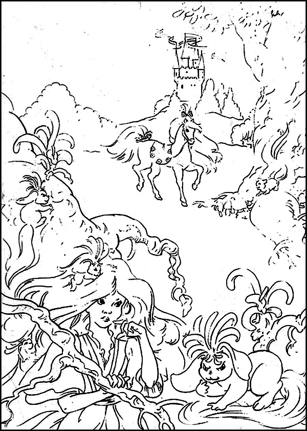 Lady Lovely Locks Coloring Pages Lady-lovely-coloring-b