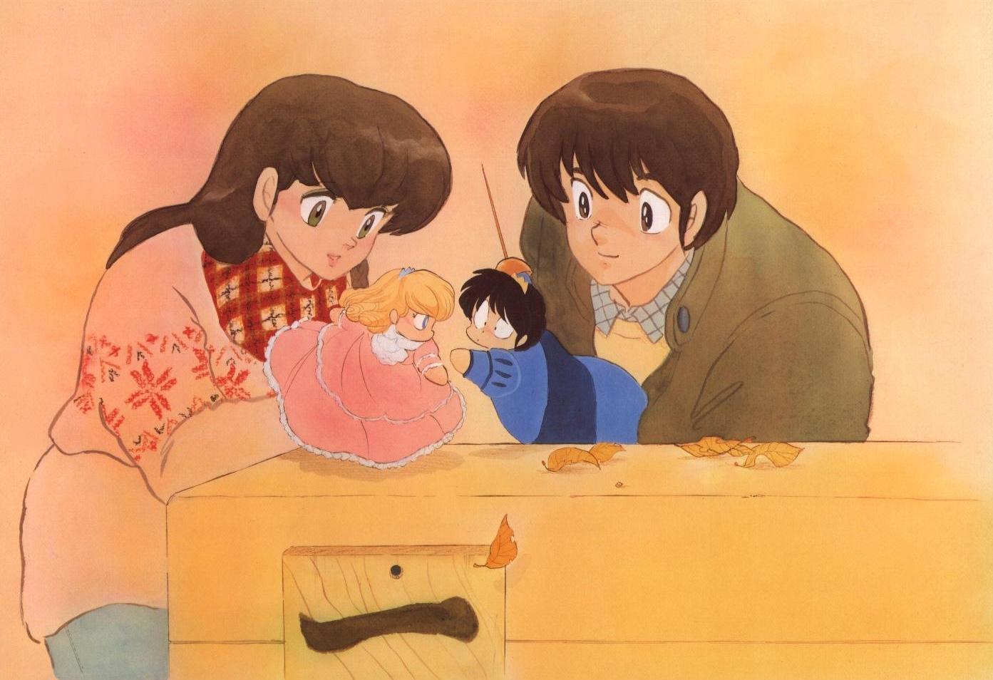 Maison ikkoku illustrazioni for Anime maison ikkoku