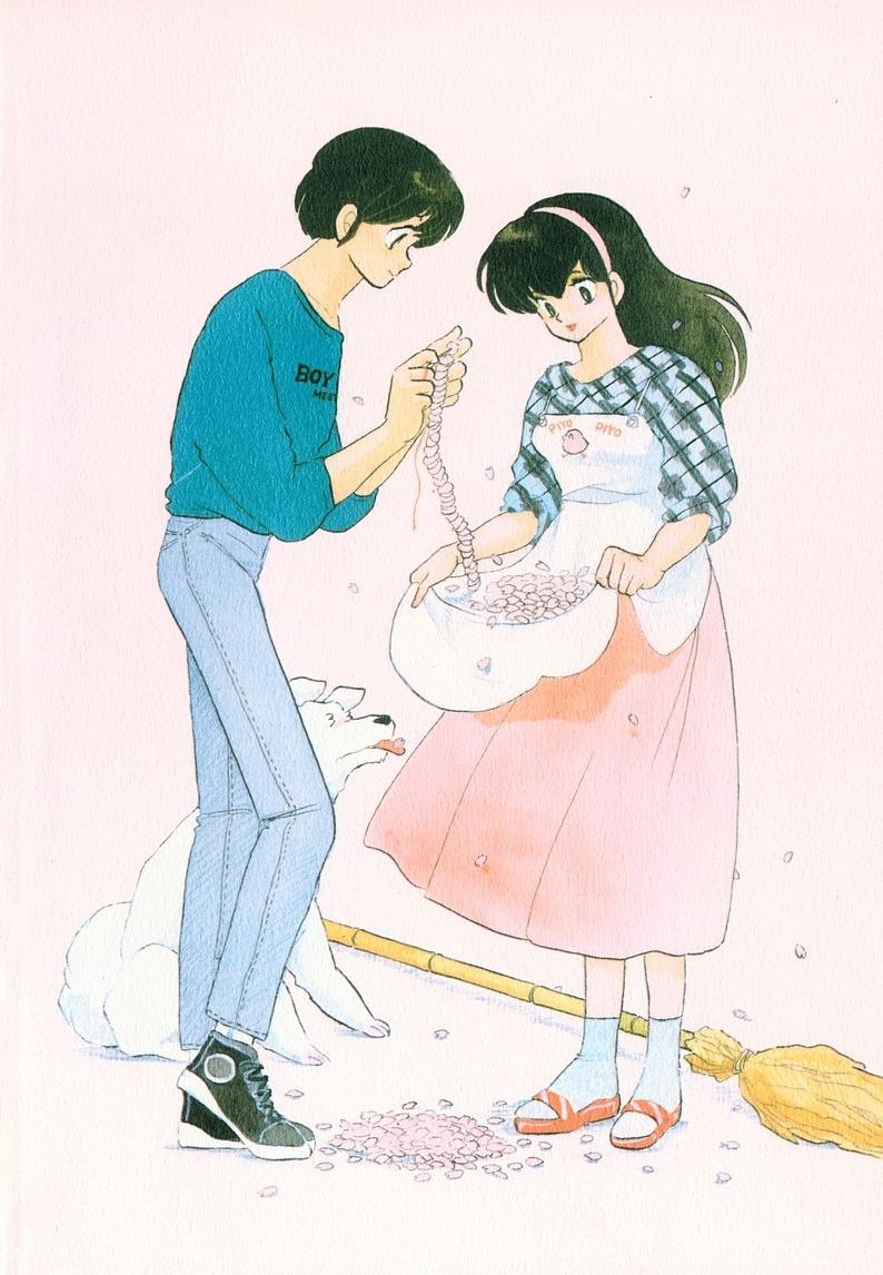 Maison ikkoku immagini dal manga for Anime maison ikkoku