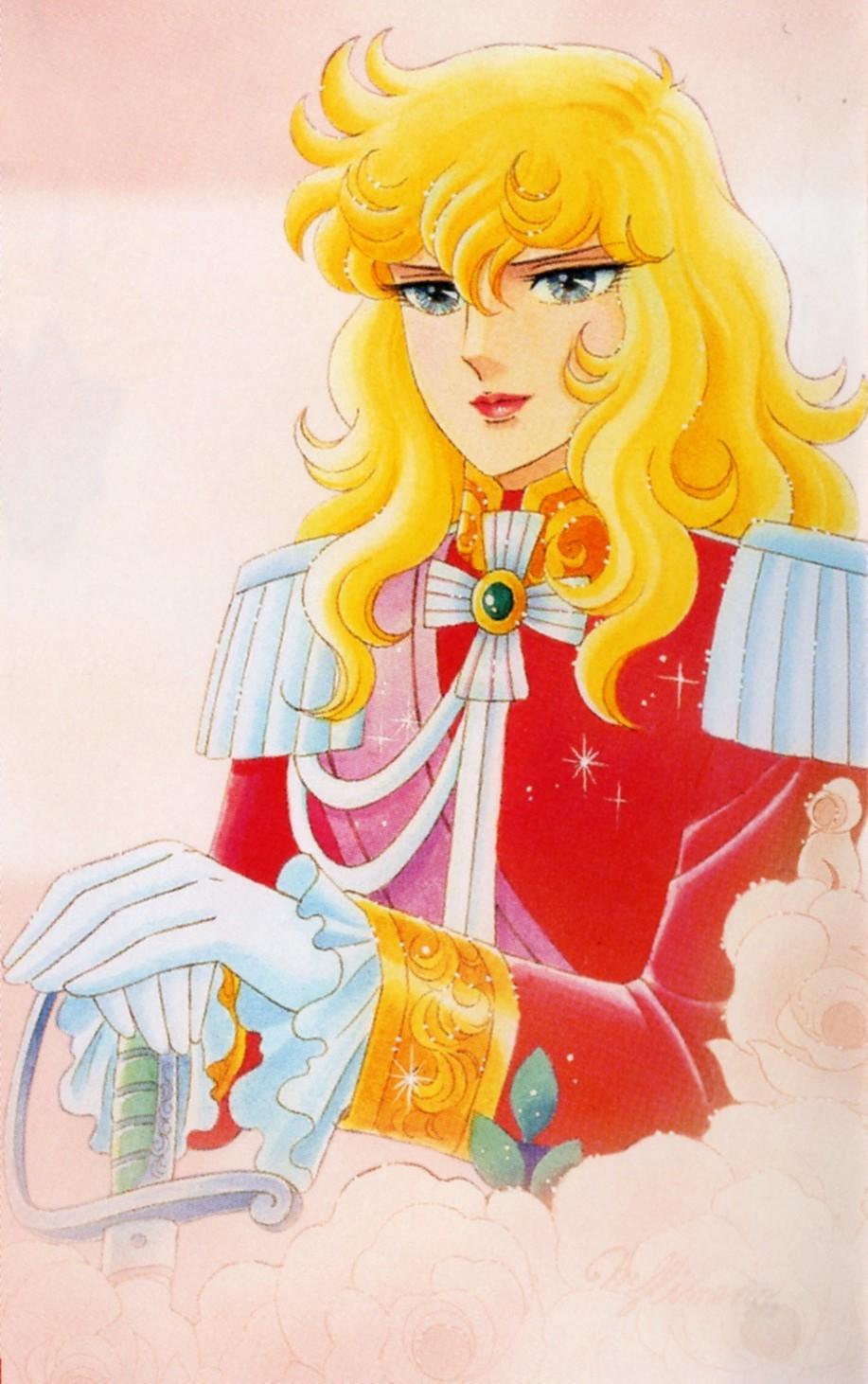 Lady oscar postcards