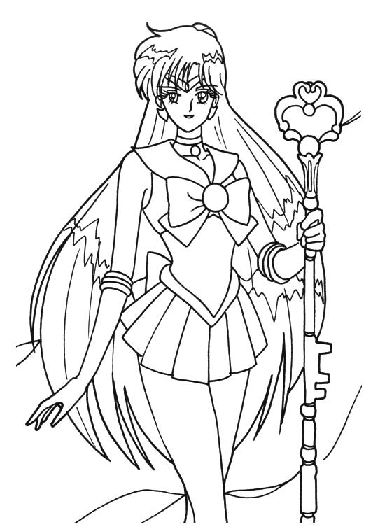 Free Sailor Moon Crystal Coloring Pages