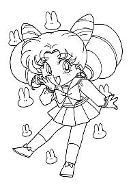 Sailor Moon Immagini Da Colorare