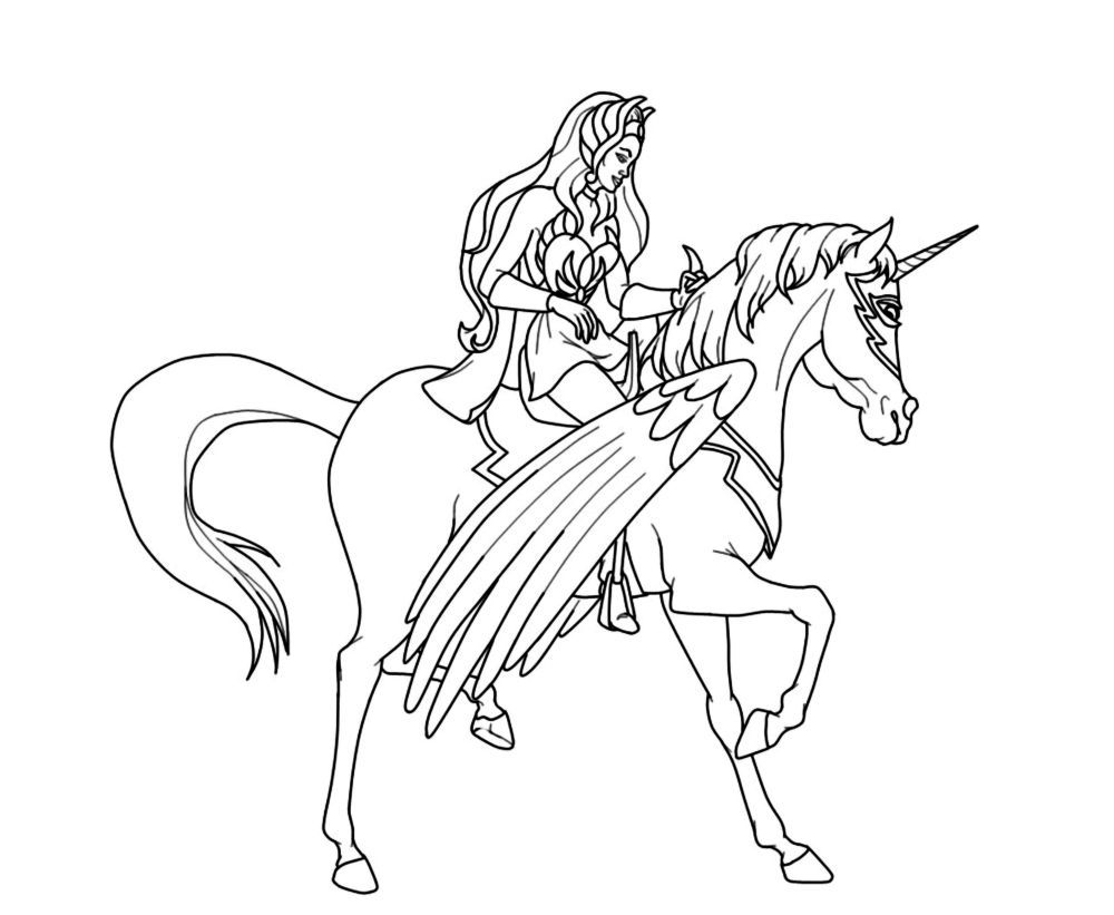 Http Www Coloringpages4kidz Com Home Wp Content Uploads She Ra Coloring Pages