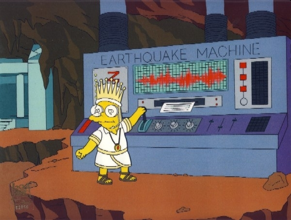 the earthquake machine
